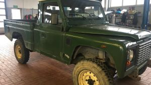 zdjęcie Land Rover Defender 110, pick-up, Td5
